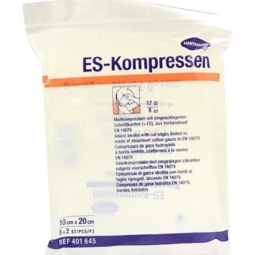 ES Kompressen steril 10x20cm 8fach 5x2ST PZN 01407146 - PK/5X2