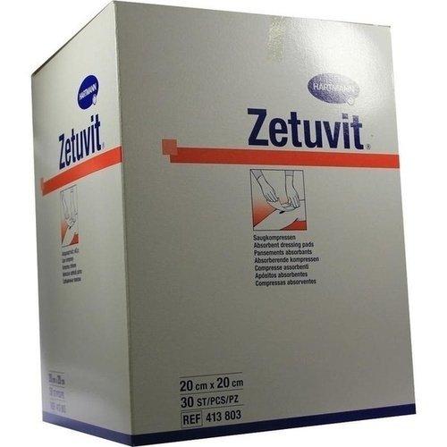 Zetuvit Saugkompresse unsteril 20x20cm 30 ST PZN 01981661 - PK/30