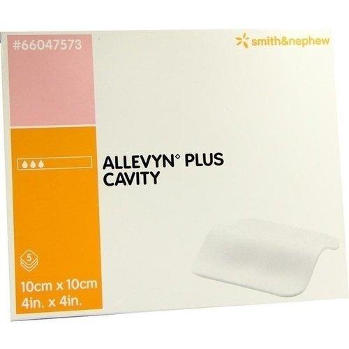 Allevyn Plus Cavity 10x10cm f.tiefe Wunden 5 ST PZN 03127089 - PK/5