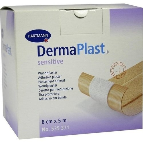 Dermaplast Sensitive Plaster 8cmx5m 1 ST PZN 03645944 - ST