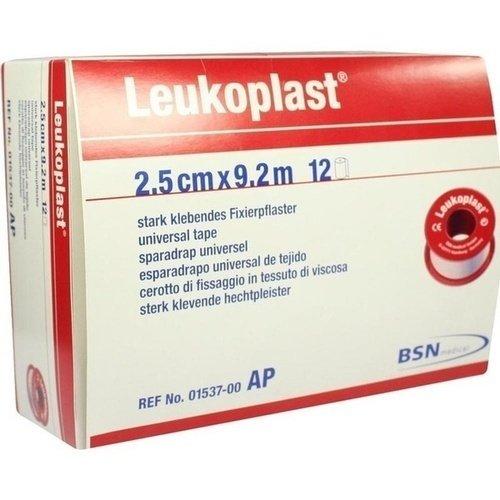 Leukoplast 9,2mx2,50cm 1537 12 ST PZN 04593511 - PK/12