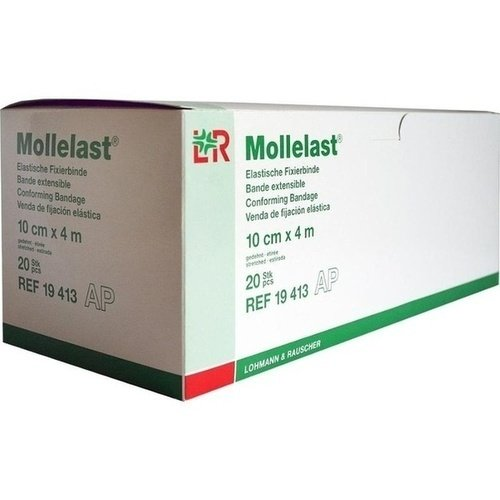 Mollelast Binden weiss 10cmx4m 20 ST PZN 04781572 - PK/20