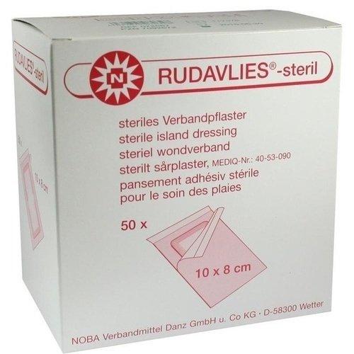 Rudavlies 10cmx8cm Verbandpflaster steril 50 ST PZN 07092672 - PK/50