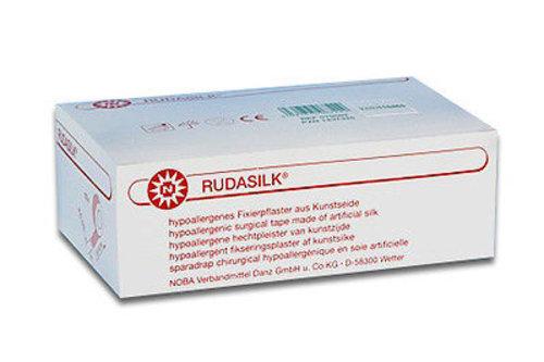 Rudasilk Fixierpflaster 2,5cmx9m o.Seitenschei. 12 ST PZN 01437325