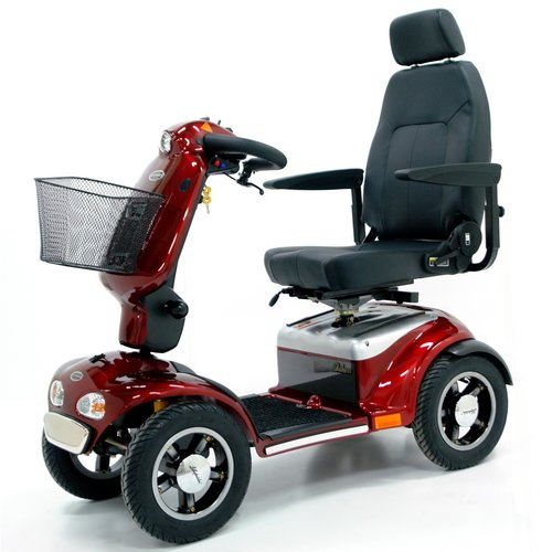 Elektromobil - Scooter - Shoprider Pellworm (889SLBF) - Rot