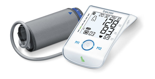 Beurer BM 85 Bluetooth - Oberarm-Blutdruckmessgerät